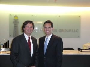 With Majority Leader Eric Cantor