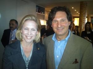 With Senator Gillibrand