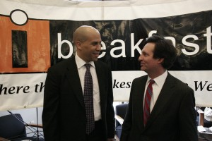 With Senator Corey Booker