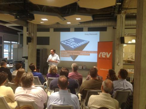 Speaking at Rev Startup Works in Ithaca NY
